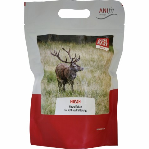 Easy Barf Hirsch 350g (1 Piece)